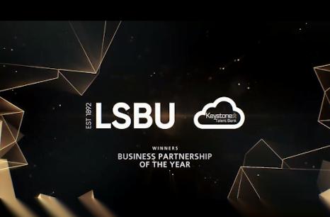 LSBU Winners banner
