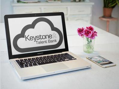 Talent Bank laptop