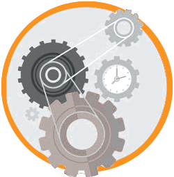 icon of gear cogs